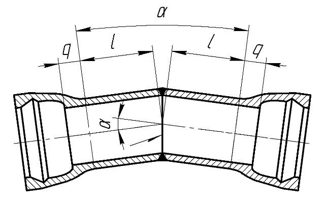 Отвод раструбный (ОР)